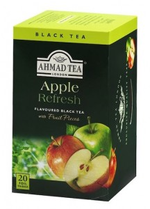 Herbata Ahmad Black Apple Refresh 20x2g - czarna jabłkowa