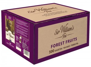 Herbata Sir William's Forest Fruit 500x2,4g - owocowa, o smaku owoców leśnych