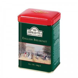 Herbata Ahmad English Breakfast Tea 100g - w metalowej puszce