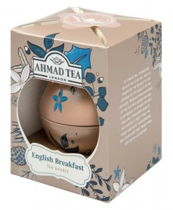 Herbata Ahmad Twilight Bauble 30g - English Breakfast w bombce - świąteczna puszka