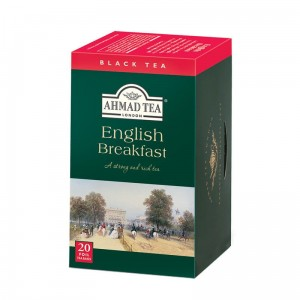 Herbata Ahmad English Breakfast 20x2g - czarna w kopertach
