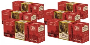 Herbata Sir William's London Tea Ceylon 25x1,8g x 6 - 150 saszetek
