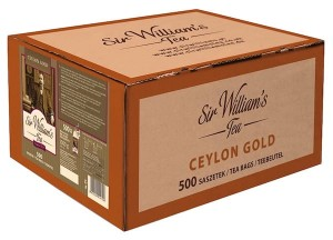 Herbata Sir William's Ceylon Gold 500x2g - czysta czarna herbata ze Sri Lanki