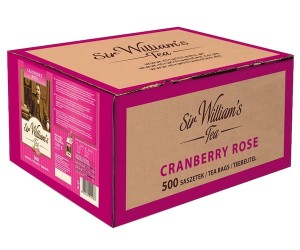 Herbata Sir William's Cranberry Rose 500x2,4g - owocowa, żurawinowo-różana