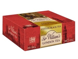 Herbata Sir William's London Tea Ceylon 100x1,8g - czarna cejlońska