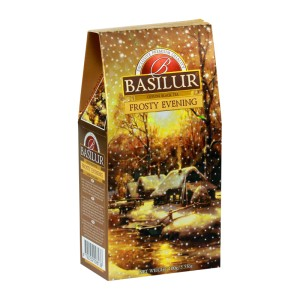 Herbata Basilur Festival Collection Frosty Evening 100g - czarna Orange Pekoe z morelą i nagietkiem