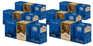 Herbata Sir William's London Tea Earl Grey 25x1,8g x 6 - 150 saszetek